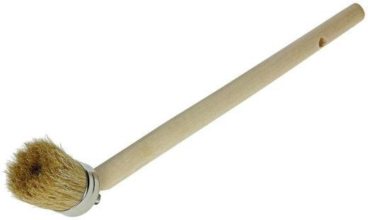 Teerkwast / bokkenpoot houten steel 45