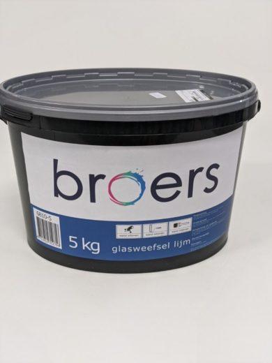 Broes Pro Glasvezellijm 5 kg.
