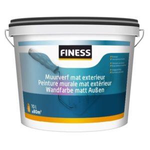 Finess Muurverf mat exterieur