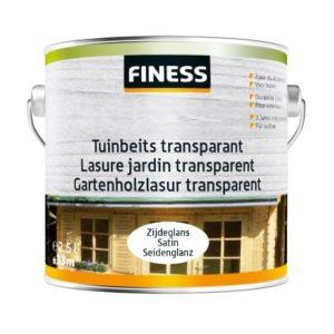 Finess Tuinbeits transparant (zijdeglans)