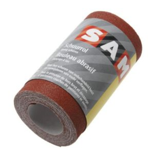 Schuurpapier op rol 120mm x 4,5m