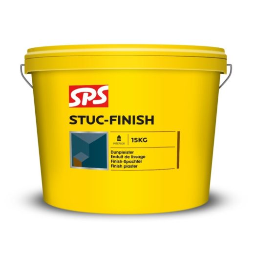 SPS Stuc Finish Wit 15 kg